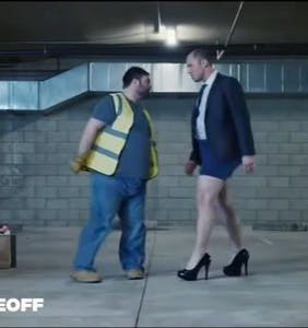 Ads featuring men in heels and women kissing received the most complaints in 2016