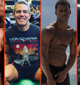 Andy Cohen's thighs, Matt Lister's pits, & Laith Ashley's VPL