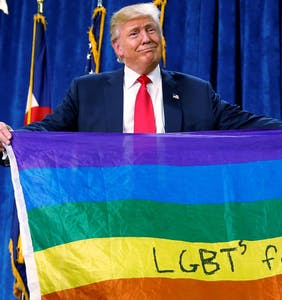 Trump touts incredible record on LGBTQ rights, leaves Obama's workplace protections intact