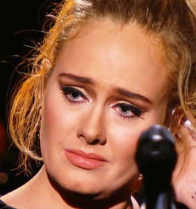 Adele stops mid-song, demands do-over on live TV during George Michael tribute at last night's Grammys