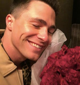 BREAKING: Colton Haynes has a boyfriend and they are in lurve