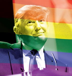 Trump says he supports queer people; now he's trying to strip their rights internationally