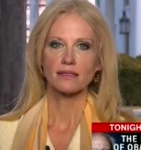 WATCH: Kellyanne Conway finally starting to crack as CNN anchor corners her on live TV