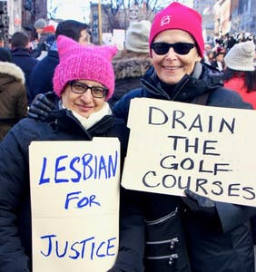 PHOTOS: Solidarity rally at Stonewall puts the new LGBTQ activism on vivid display