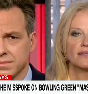 """CNN's Jake Tapper sheds new light on that time he """"pinned down"""" Kellyanne Conway on live TV"""
