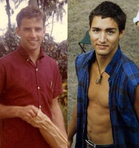 Who's hotter? Young Justin Trudeau or Young Joe Biden?