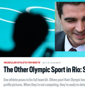 Nico Hines apologizes for outing athletes at the Olympics… seven months later