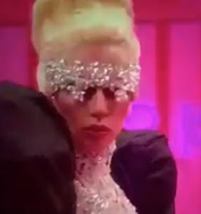 Mediocre Lady Gaga impersonator stuns Drag Race contestants by actually being Lady Gaga