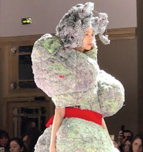 """Comme des Garçons' """"amoeba-shaped garments"""" have the Internet divided: Is this fashion?"""