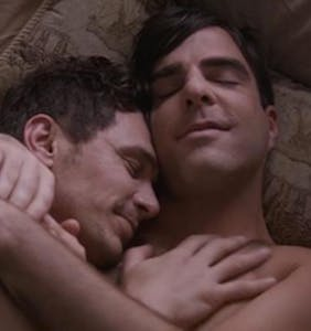 "Here's that ""I Am Michael"" threesome starring James Franco, Zachary Quinto, and Charlie Carver"