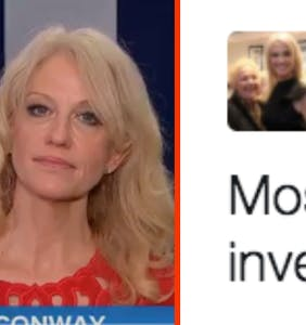 Kellyanne Conway ripped over Tweet that clearly didn't age well