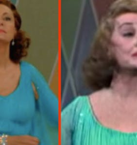 Yup, that bizarre Bette Davis musical number from last night's 'Feud' is very real
