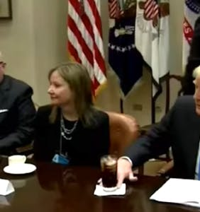 Donald Trump has an awfully strange poker tell, and there's video to prove it