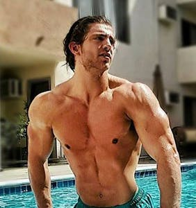 """Let's catch up with Ellen's muscly gardener as he gears up to star in """"The Abbey"""""""