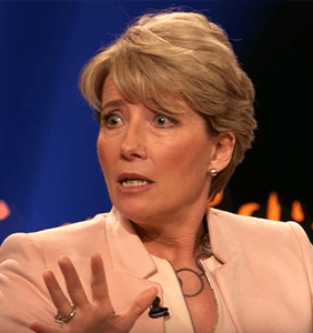That time Trump tried hitting on Emma Thompson in the most awkward way imaginable