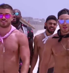 It's time to watch SNL's genius take on Logo's new 'Fire Island' reality show