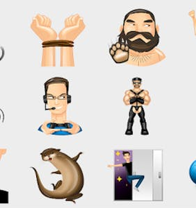 Grindr's brand-new custom emojis are a lowdown filthy SCANDAL