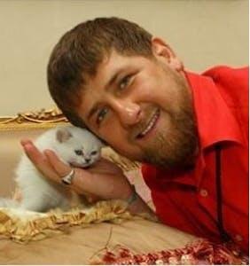 Meet Chechnya President Ramzan Kadyrov, killer of gay men who loves kittens