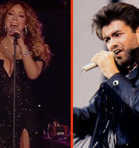 Start your week right with this stunning George Michael tribute
