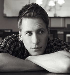 Move over Tom Daley, Dustin Lance Black to launch his very own modeling career