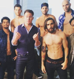"Get acquainted with all the jiggling beefcake in ""Magic Mike Live"""
