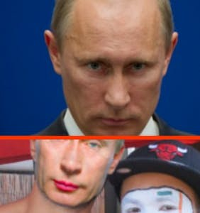"Vladimir Putin is going to absolutely hate the ""Gay Clown Putin Challenge"""