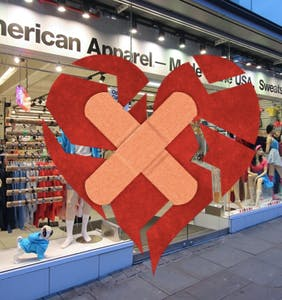 Man grieves the loss of American Apparel, which he credits for awakening his inner homosexual