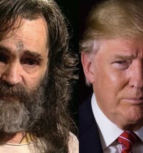 Watch Trump supporters say they support Charles Manson visiting White House to discuss safety