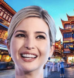 Loathed in America, Ivanka Trump is called 'goddess' in China