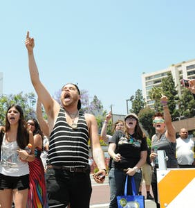 As L.A. Pride embraces anti-Trump resistance, advertisers head for the exit
