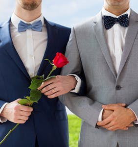 Study: Married gay men are much happier than single ones