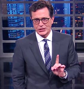 Stephen Colbert addresses #FireColbert controversy: 'I would do it again'