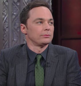 "Jim Parsons to Stephen Colbert: ""Are you feeling homophobic?"""