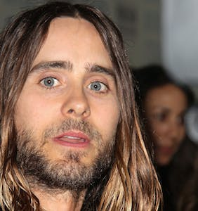 This actor did not appreciate the nonconsensual kiss from Jared Leto