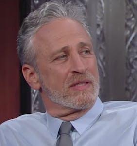 "Jon Stewart addresses #FireColbert controversy: ""I don't feel comfortable."""