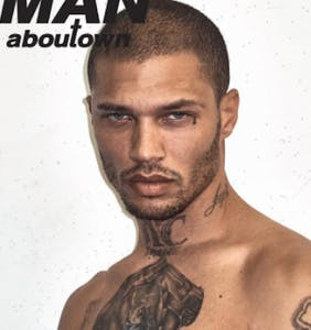 """Hot Felon"" turned professional model Jeremy Meeks photographed by Steven Klein"