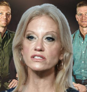 Kellyanne Conway is teaming up with the Benham Brothers for an anti-LGBTQ cause