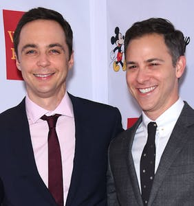 Scenes from Jim Parsons' classy AF wedding