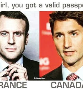 Who's cuter? French President Emmanuel Macron or Canadian Prime Minister Justin Trudeau