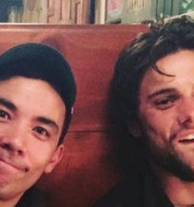 "Bromance is budding between ""How To get Away With Murder"" stars Jack Falahee and Conrad Ricamora"