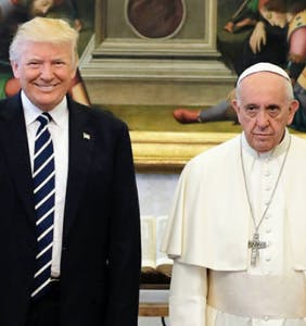 Trump's miserable Vatican visit blessed the Internet with these perfect memes