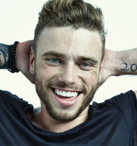 Gus Kenworthy strips to raise money for LGBTQ charity. He should do this more often.