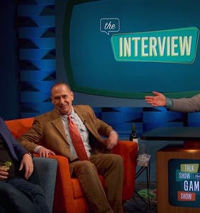 "Scott Thompson steals ""Talk Show: The Game Show"" from boring comic"