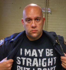 Straight NYC cop's Pride message goes viral for all the right reasons