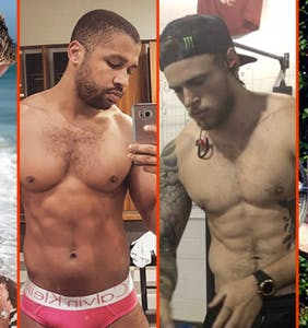 Laith Ashley's shirtless workout, Harry Louis' sweaty pits, & Andy Cohen's manspread