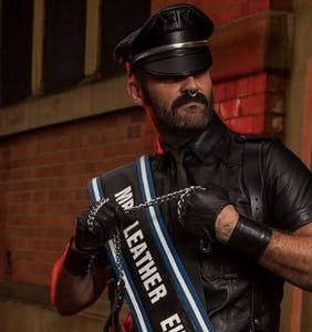 Mr Leather Europe: 'I was in a physically abusive relationship for five years'