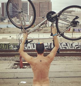Bikers pedal across the globe in their birthday suits for the 13th annual World Naked Bike Ride