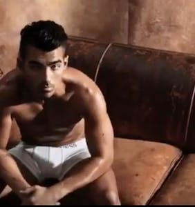 Why the Internet was invented: Joe Jonas dancing around in short-shorts is a sight to see