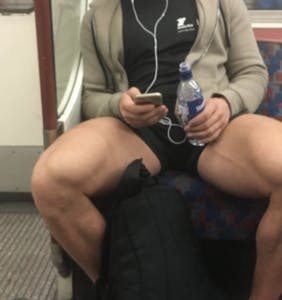 Madrid is the latest city to take a wide stance against 'El manspreading' on the subway