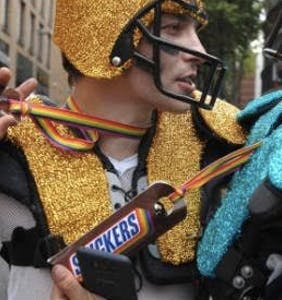 Candy & fast food advertisers discover Pride, calories be damned